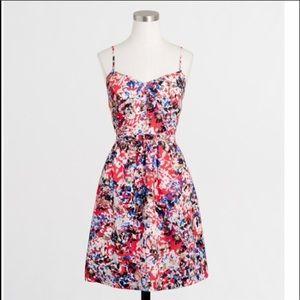 J. Crew Factory Printed Seaside Cami Dress